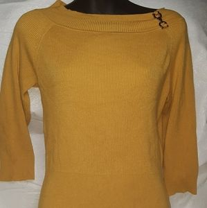 Cato yellow half sleeve size M